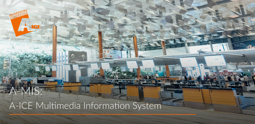 A-ICE Multimedia Information System A-MIS airport operations