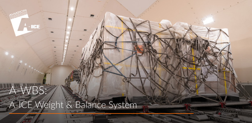 A-ICE Weight and Balance System A-WBS airport ground handling