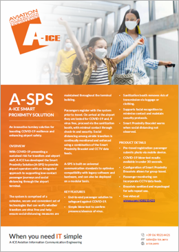A-ICE Smart Proximity Solution (A-SPS) System Product Overview