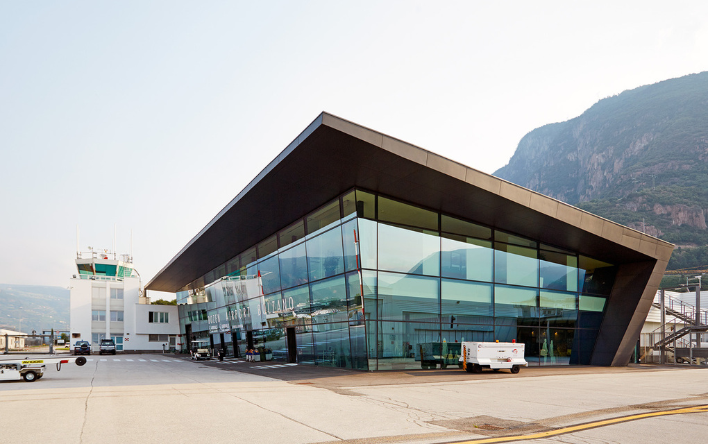 """Bolzano is the first """"airport in a box"""", completely provided by A-ICE."""