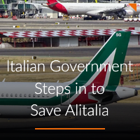 Italian Government Steps in to Save Alitalia A-ICE Airport operations