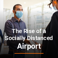 The rise of a socially distanced airport