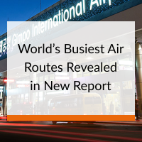 World's Busiest Air Routes Revealed in New Report